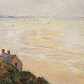Trouville At Low Tide by Claude Monet