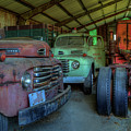 Truck Graveyard Warehouse by Jerry Gammon