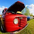Truck Headlight by Karl Rose