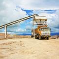 Truck Loading Gravel In Tabnzania. by Marek Poplawski
