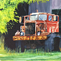 Truck Rusted by Teresa Beyer