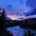 Truckee River Sunset by Jason Minnig