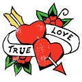 True Love Tattoo by Bob Newman