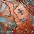 True Shepherd 27 - Tile by Gloria Ssali