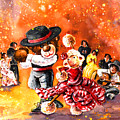 Truffle Mcfurry And Mary Performing Flamenco by Miki De Goodaboom