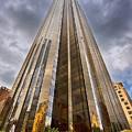 Trump Tower At Columbus Circle Nyc by Val Black Russian Tourchin