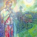 Trumpet Man by Joe Roache