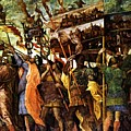 Trumpeters 1506 by Mantegna Andrea