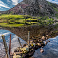 Tryfan Reflections by Adrian Evans