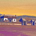Tsagan-kure, Inner Mongolia by Nicholas Roerich