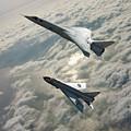 Tsr.2 Advanced Bomber And Lightning Interceptor by Erik Simonsen