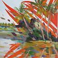 Tsunami by Art Nomad Sandra  Hansen