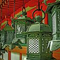 Tsuri-do-ro Or Hanging Lantern #0807-2 by Hiro Nishikawa