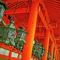 Tsuri-do-ro Or Hanging Lantern #0807-5 by Hiro Nishikawa