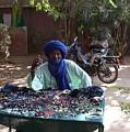 Tuareg Man Selling Jewelry by Team Hazard