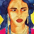 Tuareg Woman by Michaela Bautz