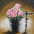 Tub Of Roses by Chuck Collins
