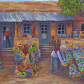 Tubac Pottery Shop by June Hunt