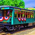 Tucson Cornelia And Gila Bend R R Train Car by Garry Gay