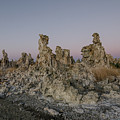 Tufas At Dusk by Margaret Pitcher