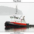 Tug Boat by William Jones