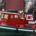 Tug Massachusetts - Chicago by Christine Douglas