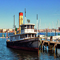 Tugboat Baltimore At The Museum Of Industry by Bill Swartwout Fine Art Photography