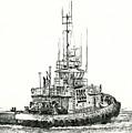 Tugboat Daniel Foss by James Williamson