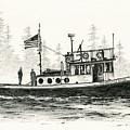 Tugboat Henrietta Foss by James Williamson