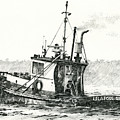 Tugboat Lela Foss by James Williamson