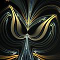 Tulip Abstract by Sandra Bauser Digital Art