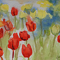 Tulip Field by Gretchen Bjornson