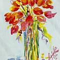 Tulip Fire Element by Caroline Patrick