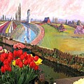 Tulip Town 21 by Will Borden