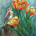 Tulip Tweets by Sherry Shipley