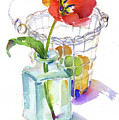 Tulip With Egg Basket by John Keeling