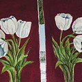 Tulips 11 And 12 by Diane Ziemski