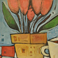 Tulips And Coffee by Tim Nyberg
