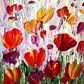 Tulips Flowers Garden Seria by Luiza Vizoli
