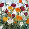 Tulips Garden by Luiza Vizoli