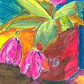 Tulips In Can by Jean Blackmer