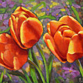Tulips In The Sun by Eileen  Fong