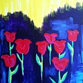 Tulips Of My Heart by Meghan Gallagher