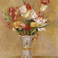 Tulips by Pierre Auguste Renoir
