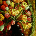Tulips With Apple by Ruth Stromswold