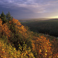 Tully River Valley Autumn by John Burk
