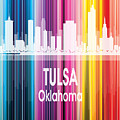 Tulsa Ok 2 Vertical by Angelina Tamez