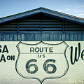 Tulsa Oklahoma On Route 66 Welcomes You by Gregory Ballos