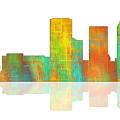 Tulsa Oklahoma Skyline-1 by Marlene Watson