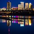 Tulsa Skyline At Twilight by Tamyra Ayles